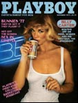 November 1977, Playboy cover image.