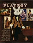 January 1972, Playboy cover image.