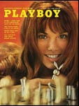 May 1972, Playboy cover image.
