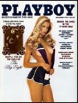 September 1982, Playboy cover image.